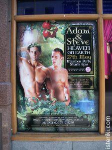 Adam & Steve poster