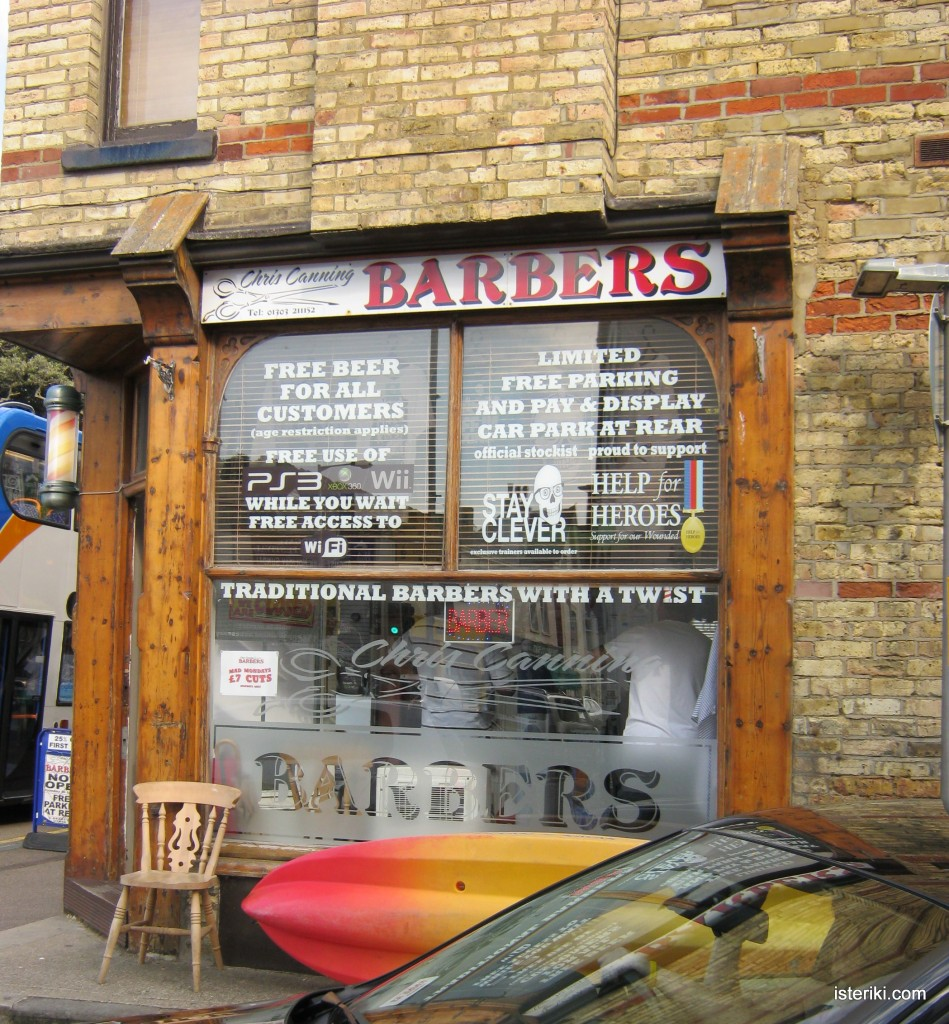 Traditional barbers with a twist