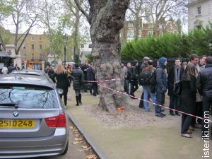 Queue - Kensington Palace Gardens