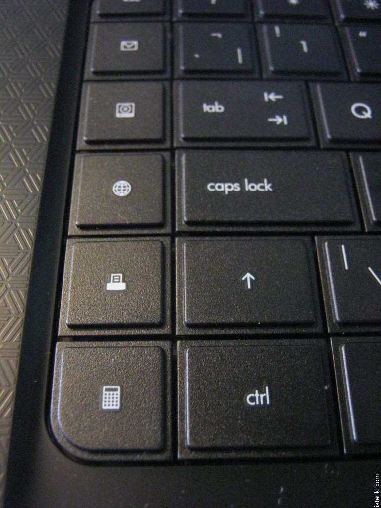 Compaq Presario CQ62-220SA Laptop keyboard - Calculator instead of Ctrl key