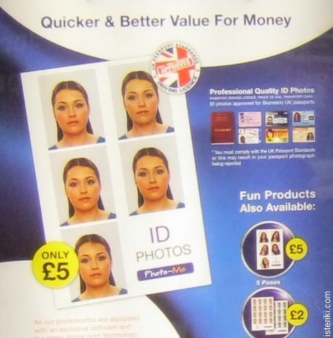 Photobooth Id photo price
