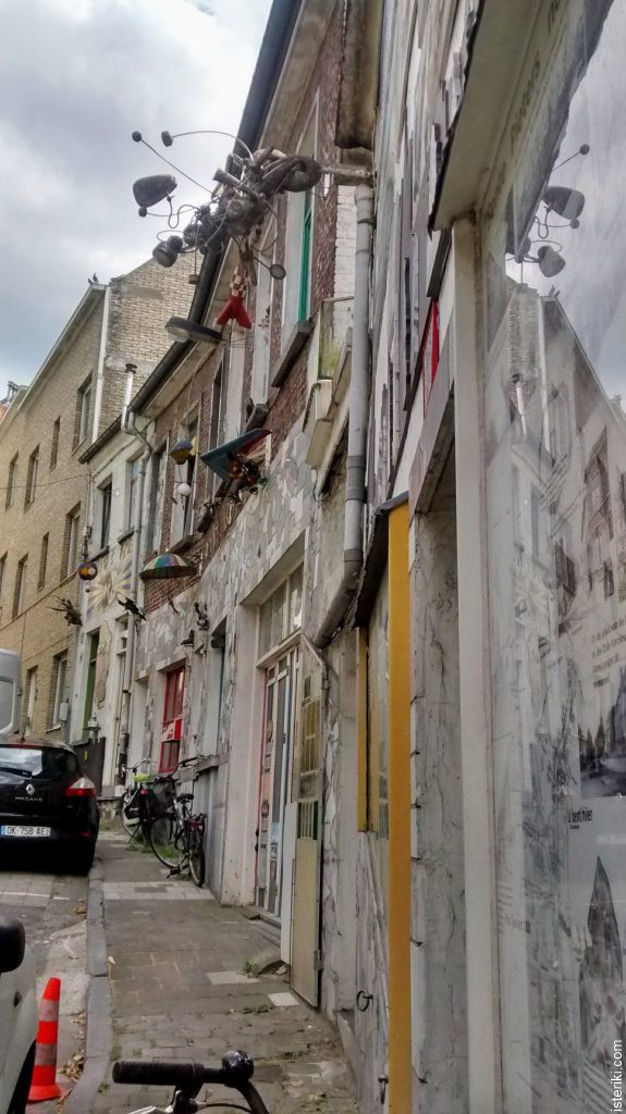 Сумасшедший дом в Генте - летающие аппараты