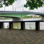 День, мост, трамвай, река